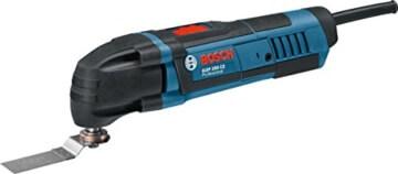 Bosch GOP 250 CE Professional Multi-Cutter im Karton mit Zubehör (Sägeblätter, Schleifplatte und -blatt, Schlüssel) - 1