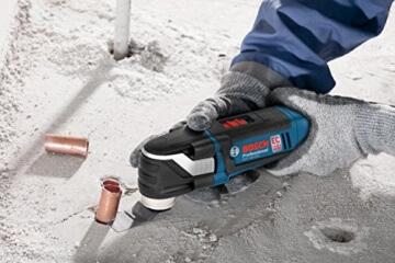Bosch Professional GOP 18 V-EC, 18 V Akkuspannung, 8.000 - 20.000 min-1 Leerlaufdrehzahl, Schnelllader, Zubehör-Set, L-BOXX, 2 x 4,0 Ah Li-Ion Akku - 2