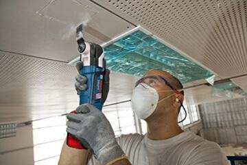 Bosch Professional GOP 18 V-EC, 18 V Akkuspannung, 8.000 - 20.000 min-1 Leerlaufdrehzahl, Schnelllader, Zubehör-Set, L-BOXX, 2 x 4,0 Ah Li-Ion Akku - 3